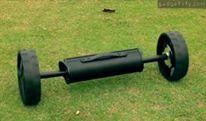 eWheels: Turns any Golf push cart Into an electric caddie Info: http://www.gadgetify.com/ewheels-electric-caddie/