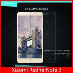 Xiaomi redmi note 3 pro glass film Nillkin brand screen protector tempered glass film for xiaomi redmi note 3 pro prime 0.3mm