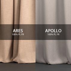 #Apollo ed #Ares della collezione #Zeus sono perfetti per vestire ambienti residenziali e pubblici, poiché sono realizzati in 100% PL Flame Retardant e sono disponibili in decine di colori differenti!  #tessuti #interiordesign #tendaggi #textile #textiles #fabric #homedecor #homedesign #hometextile #decoration Visita il nostro sito www.ctasrl.com e scarica le nostre brochure su: http://bit.ly/1nhrLQM