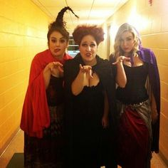 I need two friends to dress up like Hocus Pocus witches with me!