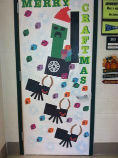Minecraft classroom door | door ideas | Pinterest ...