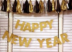New Year's Eve Party banner