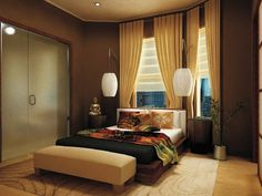 Dream bedroom Asian style