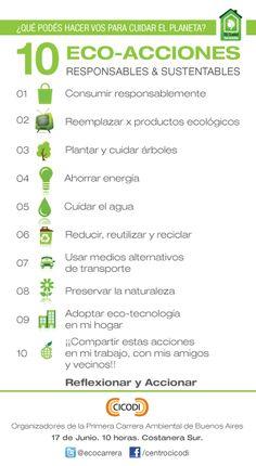 ¿Qué podés hacer vos para cuidar el planeta? Mi Ciudad Sustentable - CICODI