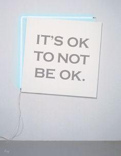 it's ok...