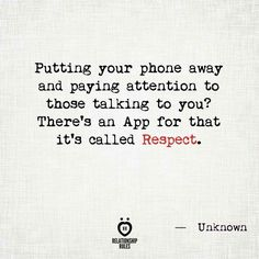 I hate cell phones! Inspirational Poetry Quotes, Motivational Quotes, Relationship Rules Quotes, Quotes Marriage, Relationships, Love Thoughts, Social Media Quotes, Hate People, Husband Quotes