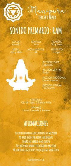 Cómo armonizar el tercer chakra – Manipura