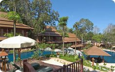 Khaolak Merlin Resort      Hotel Area : Khao Lak Beach     Location : On Beach  Traveler Review :    (0 from 5)    Start Rate : 2,465 THB Khao Lak Beach, Merlin, Hotels And Resorts, Places To Visit, Patio, Outdoor Decor, Holiday, Travel, Court Yard