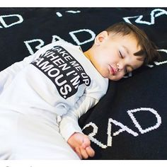 Rad Blanket at urbanbabyrunway.com