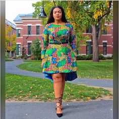The complete pictures of latest ankara short gown styles of 2018 you've been searching for. These short ankara gown styles of 2018 are beautiful Ankara Short Flare Gowns, Latest Ankara Short Gown, Ankara Short Gown Styles, Short Gowns, Ankara Gowns, Ankara Dress, Ankara Blouse, Dress Styles, Ankara Styles For Men