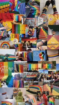 63 ideas for aesthetic wallpaper plain Rainbow Wallpaper, Cute Wallpaper Backgrounds, Tumblr Wallpaper, Cute Wallpapers, Plain Wallpaper, Aesthetic Pastel Wallpaper, Aesthetic Wallpapers, Gay Aesthetic, Aesthetic Collage