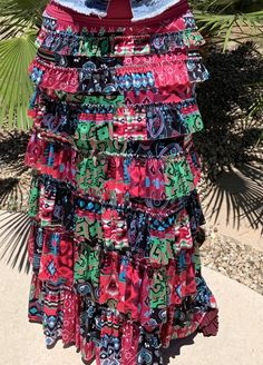 Rio Grande Ruffle Eleganza Skirt      #modestclothing  #ruffleskirt  #layeredskirt #shannasthreads
