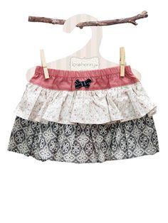 Audrey Frilly Girls Skirt - Baby Girl Dresses - Girls - Little Chickie