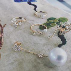 Looking Back: Ole Lynggaard Copenhagen's Summer Collection Charlotte, Star Ring, Shooting Stars, Star Earrings, Summer Collection, Ring Designs, Fine Jewelry, Jewellery, Gems
