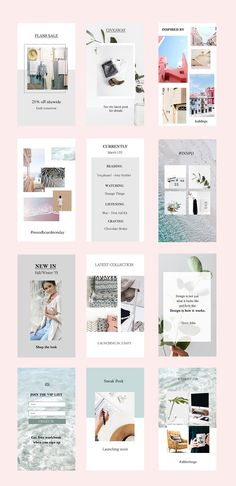 #AD FRESH Insta Stories by Golden Whimsy Studio on @creativemarket