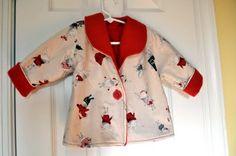 Wonder jacket; Olivia fabric