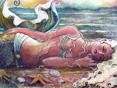103 En Iyi Denizkızı Sanatı Görüntüsü 2019 Mermaids Mermaids