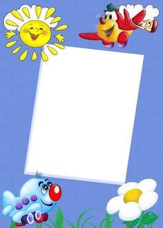 Cute Kids Transparent Frame: