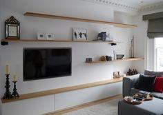 Living Room Vinyl, Living Rooms, Minimal Decor, Decoration, Shelving, Minimalism, Family Room, New Homes, Studio