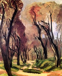 Lane of Olive Trees Henri Matisse - 1919
