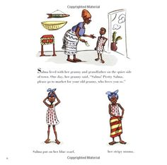 Pretty Salma: A Little Red Riding Hood Story from Africa: Niki Daly: 9780618723454: Amazon.com: Books