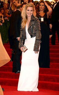 """Sienna Miller at The Metropolitan Museum of Art's Costume Institute benefit celebrating """"PUNK: Chaos to Couture"""""""