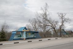 See Avant-Garde Soviet Bus Shelters Before They Disappear | Atlas Obscura