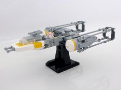 https://flic.kr/p/qyXzLa | Lego Y-Wing mini-scale