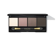 Eyeshadow Palette 01. Four matte shades of brown and grey enhance the natural beauty of your eyes, allowing for a combination of elegant looks that take eyes from day to night, Silk powder offers pH balancing and protective qualities.