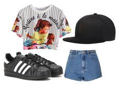 """""""My Style 9"""" by milly-burley on Polyvore featuring Glamorous, adidas and Puma"""