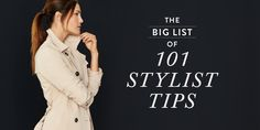 Here are some quick links to skip to your favorite section: For Your Body Shape: Flaunting Your Figure Camouflage Challenges Maternity Style For Special Occasions: Travel & Holiday Workwear For Your Style: Color Palette Clothing Beauty & Accessories For DIYers: Wear & Care Life-Savers Flaunting Your Figure The golden rule of figure flattery is to …
