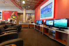 Verizon Experience Store #Retail #Interiordesign custom fixtures & #displays by Bishop Fixture + Millwork