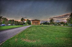 Wide Angle Parthenon HDR