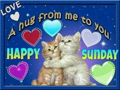 A hug from me to you, happy sunday hugs sunday sunday quotes happy sunday sunday hugs sunday blessings cute sunday quotes sunday images Good Morning Sister, Happy Sunday Morning, Good Morning Happy Sunday, Sunday Feels, Happy Saturday, Sunday Funday, Blessed Sunday Quotes, Have A Blessed Sunday, Happy Quotes