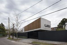 Completed in 2016 in Acassuso, Argentina. Images by Federico Cairoli. The house is built on an irregular corner lot, with 297 m2, located in a low-density residential neighborhood in Acassuso, San Isidro, on the north...