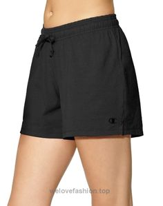 Champion Women's Jersey Short, Midnight Vista Blue Heather, S  BUY NOW     $7.50    The Champion jersey short teams up with Champion jersey tops and jackets to make your statement. Cute, comfortable and perfect for any activity.Lightweight cotton jers ..