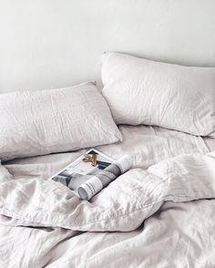 Luxury Bedding On A Budget Linen Sheets, Linen Bedding, Bedding Sets, Bed Linens, Black Bed Linen, Bedding Inspiration, Relax, Ikea Bed, Ideas Hogar