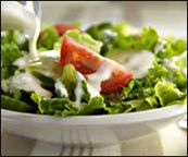 Hungry Girl salad dressing recipes, super low calorie/fat