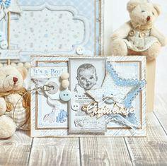Wonderful Baby Boy Tag, made by Maja Nowak