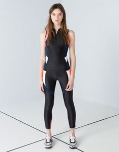 #sport #bershka #startmoving #fashion #collection Workout Attire, Workout Gear, Workout Pants, Workouts, Lycra Leggings, Trendy Summer Outfits, Sport Wear, Sport Fashion, Active Wear
