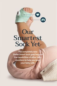 The award-winning Smart Sock is the first monitor to track your baby's oxygen and heart rate, notifying you when your baby needs you. Baby Necessities, Baby Essentials, Owlet Smart Sock, Smart Socks, Baby Gadgets, Future Mom, Baby Must Haves, Baby Supplies, Everything Baby