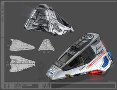 Edison Class - Star Trek Online by Paul B. Hartzog, via Flickr