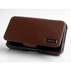 Stylish HOCO Baron Leather Case for iPhone 4/4S - Brown US$20.98 +free shipping Genuine leather