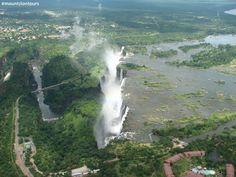 You would love to see this in real life one day Victoria Falls, Real Life, Waterfall, Day, Outdoor, Outdoors, Waterfalls, Outdoor Games, The Great Outdoors
