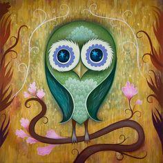 Art by Jeremiah Ketner 'Day Owl'