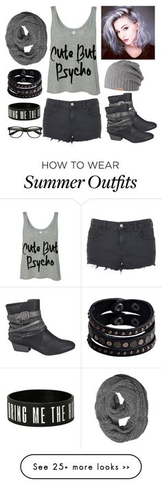 """Grey black"" by musicmelody1 on Polyvore featuring Topshop, maurices, Barts and Replay"