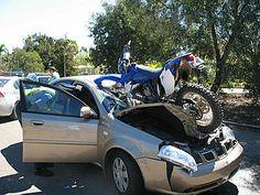 Dirt Bike Crash POV