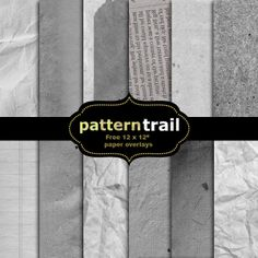 CU | Free 12″ x12″ textured paper scrapbooking overlays by Pattern Trail