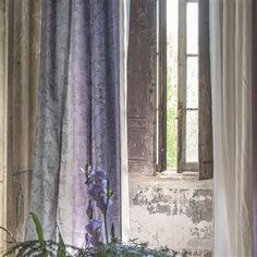 sukumala - thistle fabric | Designers Guild