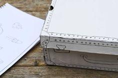 sharpie shoe box craft doodle